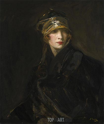 Sir John Lavery | The Gold Turban, 1929