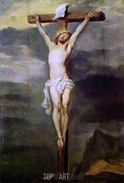 Christ on the Cross, 1627 von van Dyck | Gemälde-Reproduktion