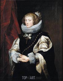 Portrait of Princess Marie de Barbancon, Duchess of Arenberg | van Dyck | outdated