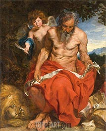 St Jerome | van Dyck | Painting Reproduction