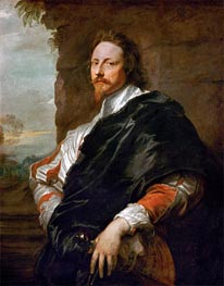 Portrait of Nicholas Lanier | van Dyck | Painting Reproduction