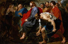 Entry of Christ into Jerusalem, a.1617 by van Dyck | Painting Reproduction