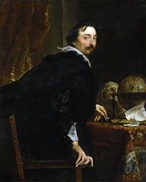 Porträt von Lucas van Uffel | van Dyck | Gemälde Reproduktion