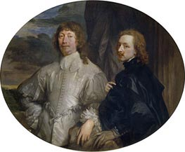 Endymion Porter and Anthony van Dyck, c.1635 by van Dyck | Painting Reproduction