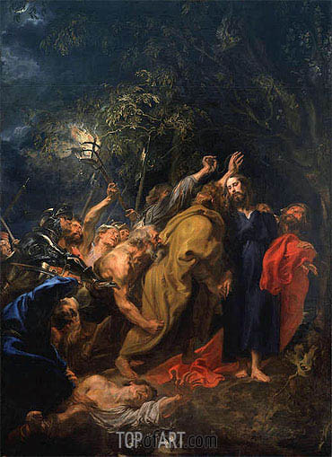 The Arrest of Christ, c.1628/30 | van Dyck | Painting Reproduction