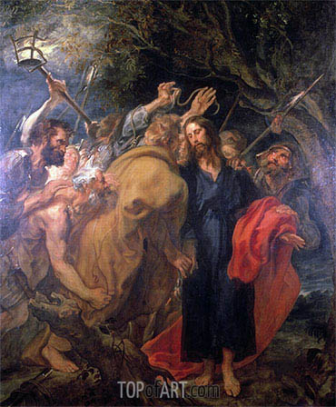 The Arrest of Christ, c.1620 | van Dyck | Painting Reproduction