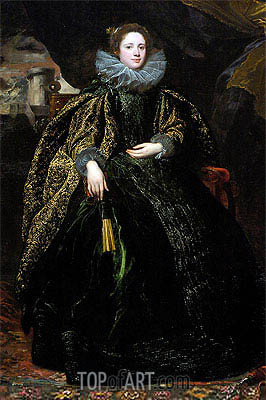 Marchesa Balbi, c.1623 | van Dyck | Painting Reproduction