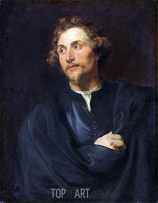 van Dyck | Portrait of the Sculptor Georg Petel, c.1627/28