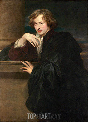 Self-Portrait, c.1620/21 | van Dyck | Painting Reproduction