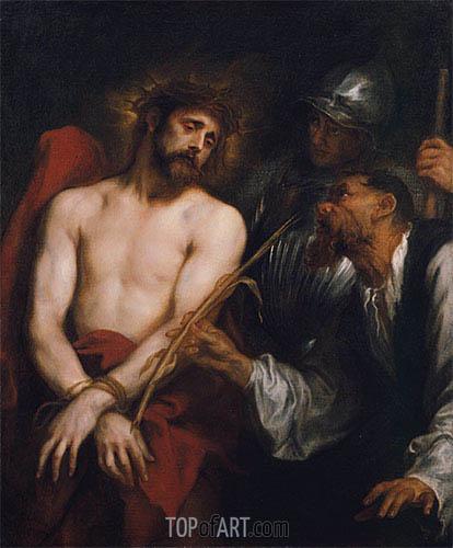 van Dyck | Die Verspottung Christi, c.1628/30