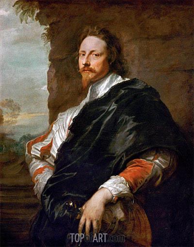 van Dyck | Porträt von Nicholas Lanier, c.1628/32