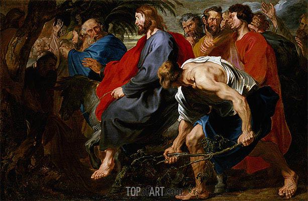 van Dyck | Einzug Christi in Jerusalem, a.1617