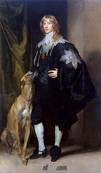 James Stuart, Herzog von Richmond und Lennox, c.1634/35 | van Dyck | Gemälde Reproduktion