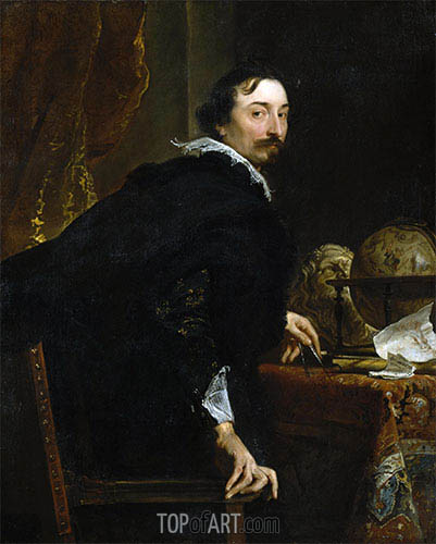 van Dyck | Portrait of Lucas van Uffel, c.1621/27