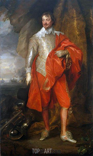 van Dyck | Robert Rich, Second Earl of Warwick, c.1632/41