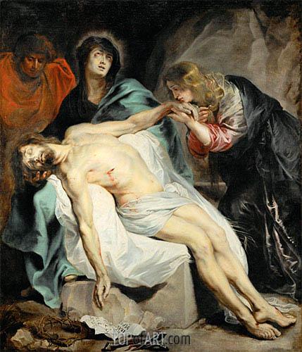 van Dyck | The Lamentation, c.1618/20