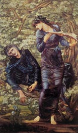 The Beguiling of Merlin, 1874 by Burne-Jones | Painting Reproduction