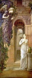 The Annunciation, 1879 by Burne-Jones | Painting Reproduction