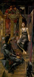 King Cophetua and the Beggar Maid, 1884 by Burne-Jones | Painting Reproduction