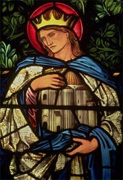 King Solomon Holding the Temple, 1890 by Burne-Jones | Painting Reproduction