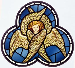 Many-Winged Angel, 1870 by Burne-Jones | Painting Reproduction