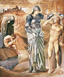 The Call of Perseus, c.1876 by Burne-Jones | Painting Reproduction