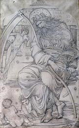 Saturn, Undated by Burne-Jones | Painting Reproduction