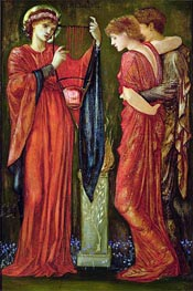 Hymenaeus, undated by Burne-Jones | Painting Reproduction