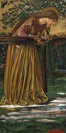 The Blessed Damozel, c.1856/61 by Burne-Jones | Painting Reproduction