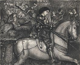 Sir Galahad | Burne-Jones | outdated