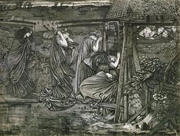 The Wise and Foolish Virgins | Burne-Jones | outdated