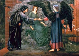 Heart of the Rose, Undated by Burne-Jones | Painting Reproduction