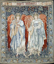 Angeli Laudantes, 1894 by Burne-Jones | Painting Reproduction