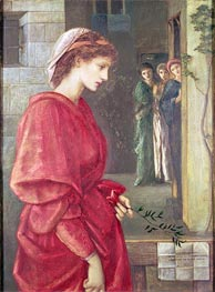 Beatrice, 1870 by Burne-Jones | Painting Reproduction