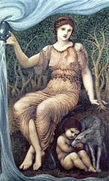 Earth Mother, 1882 by Burne-Jones | Painting Reproduction