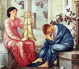 The Lament | Burne-Jones | outdated