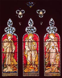 Three Trumpeting Angels, Undated by Burne-Jones | Painting Reproduction
