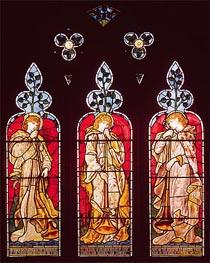 Three Trumpeting Angels | Burne-Jones | Painting Reproduction