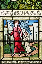 Dedication Window, Undated by Burne-Jones | Painting Reproduction