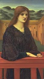 Vespertina Quies, 1893 by Burne-Jones | Painting Reproduction