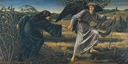 Love and the Pilgrim, c.1896/97 by Burne-Jones | Painting Reproduction