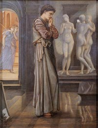 The Heart Desires, c.1875/78 by Burne-Jones | Painting Reproduction
