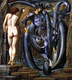 The Doom Fulfilled, c.1884/85 by Burne-Jones | Painting Reproduction