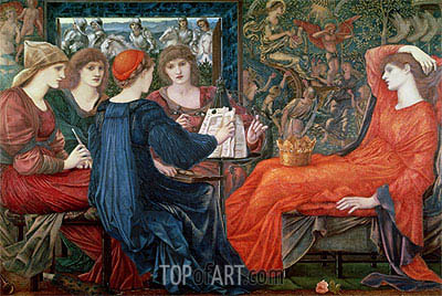 Laus Veneris, 1868 | Burne-Jones| Painting Reproduction