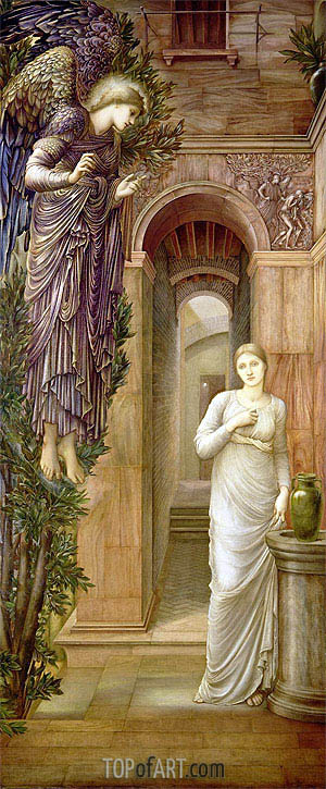 Burne-Jones | The Annunciation, 1879