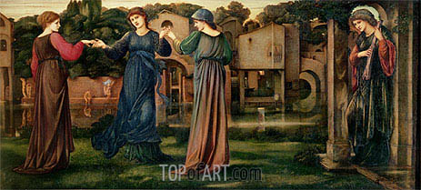 Burne-Jones | The Mill, c.1872/80