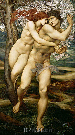 The Tree of Forgiveness, c.1881/82 | Burne-Jones | Painting Reproduction