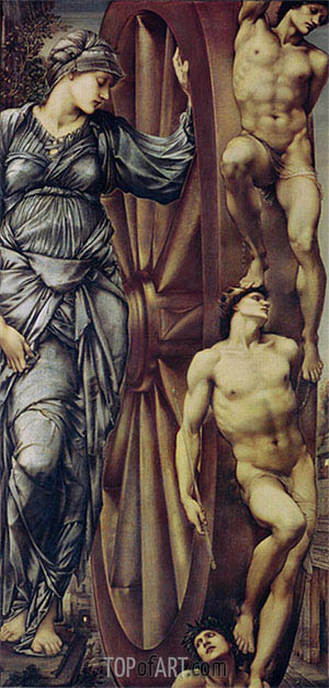 Burne-Jones | The Wheel of Fortune, c.1875/83