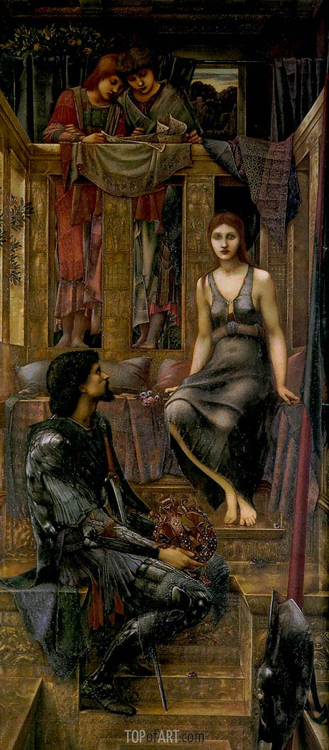 King Cophetua and the Beggar Maid, 1884 | Burne-Jones | Painting Reproduction