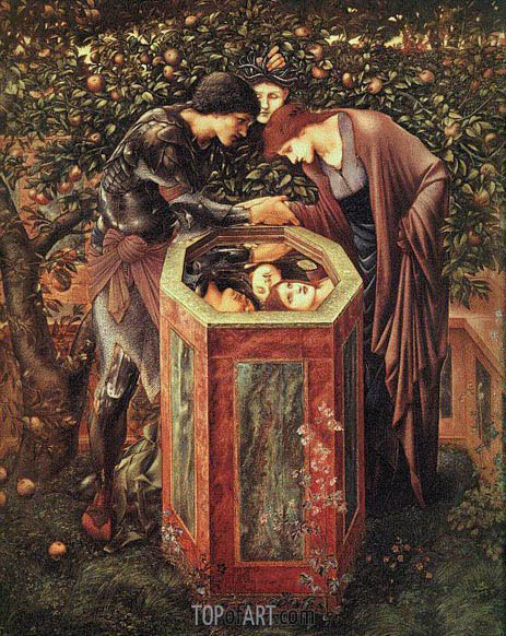 The Baleful Head, c.1886/87 | Burne-Jones| Gemälde Reproduktion